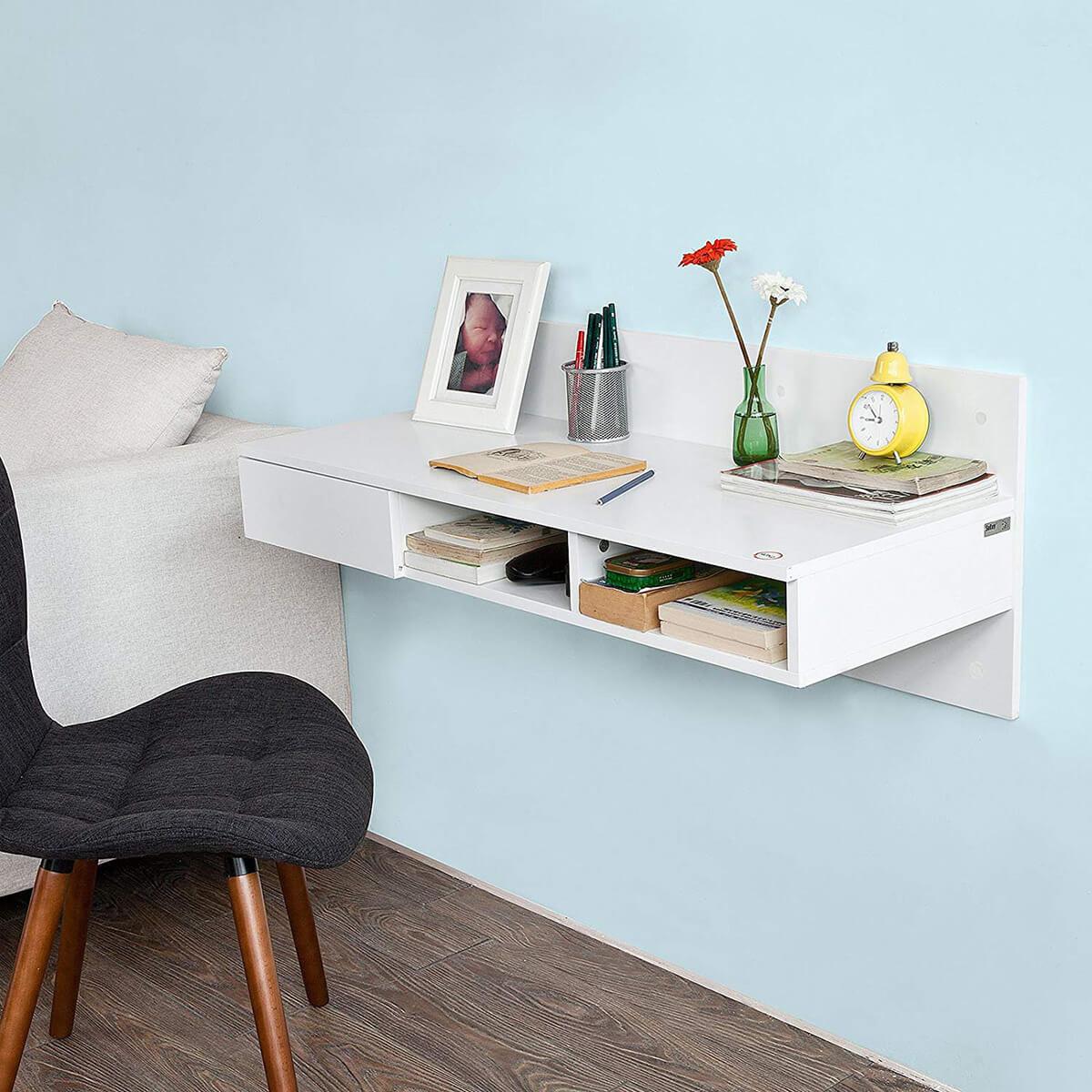 Настенный письменный стол фото 9
