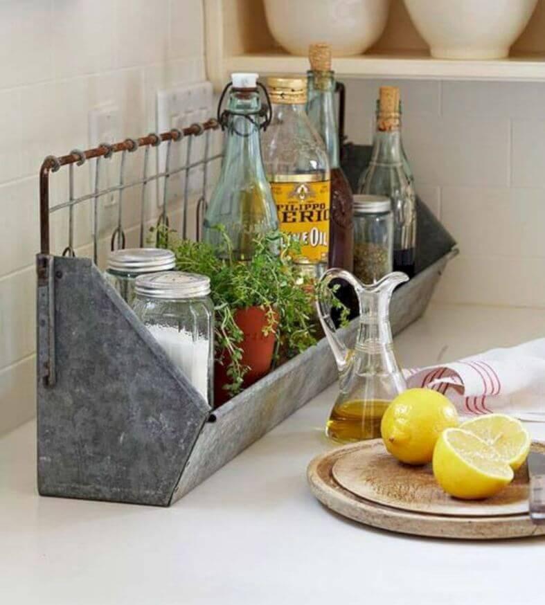 изобретательные идеи организации стола на кухне фото 13