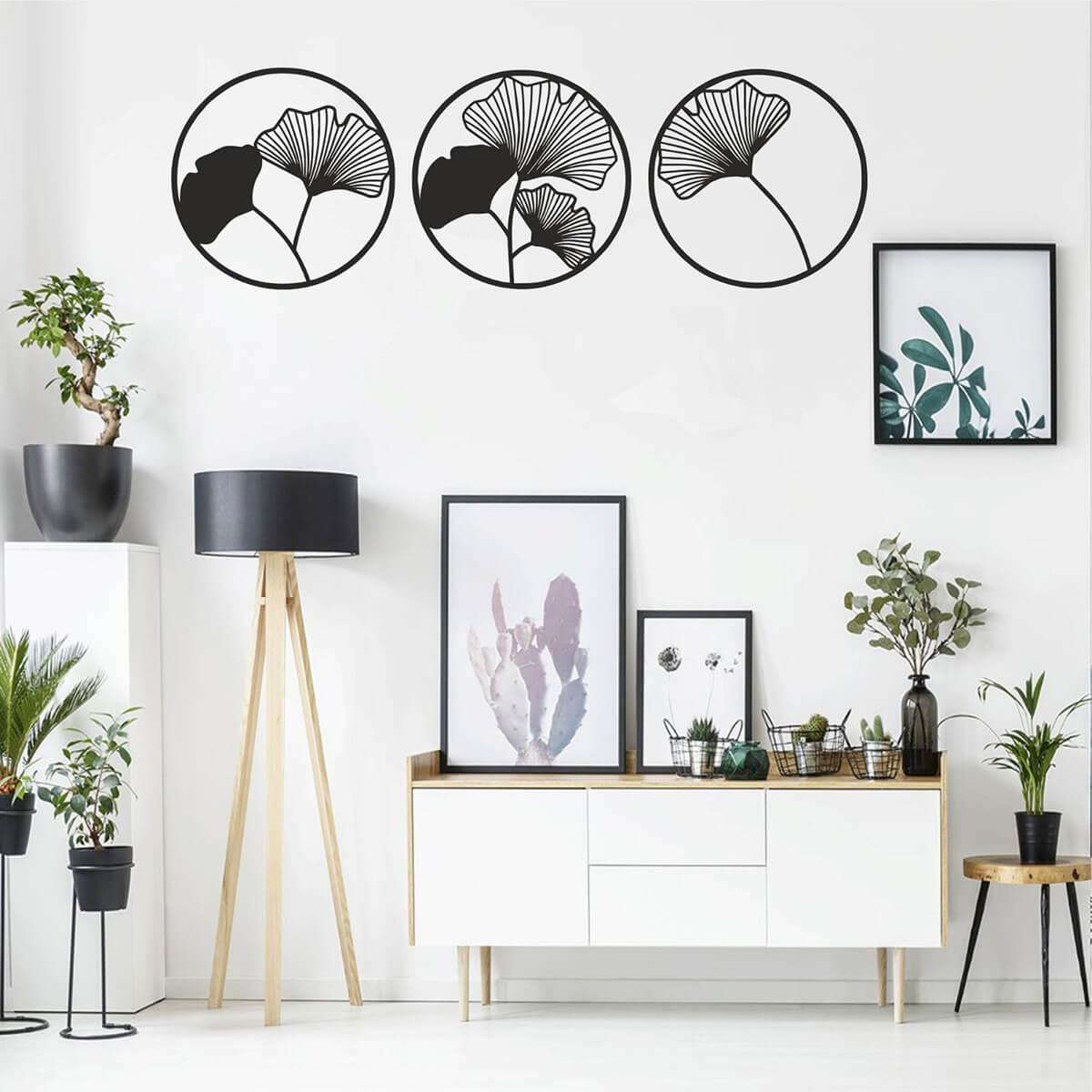 чёрно-белые идеи домашнего декора фото 2