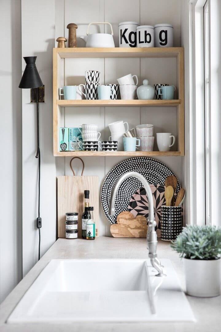 изобретательные идеи организации стола на кухне фото 14