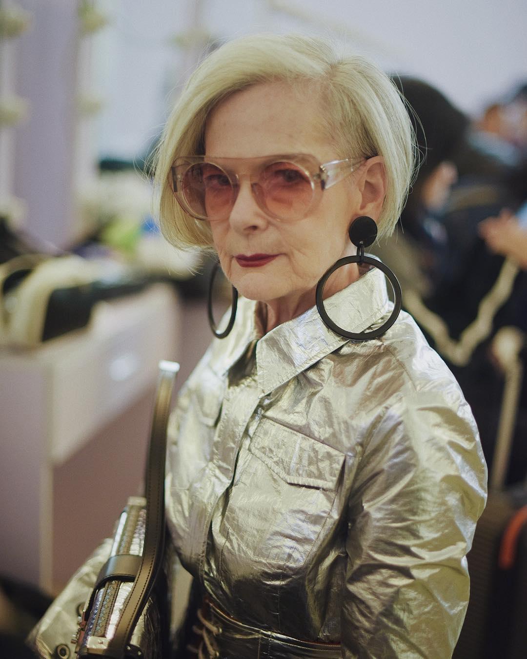 стрижки для пожилых женщин фото 8