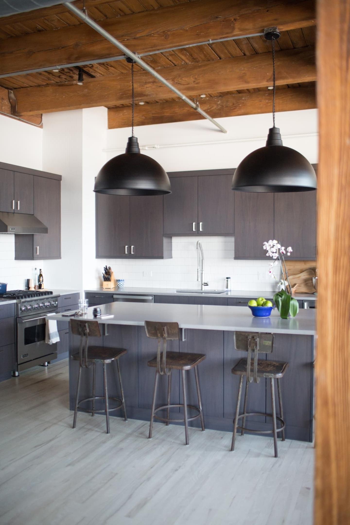 оформление кухни в серый цвет фото 7