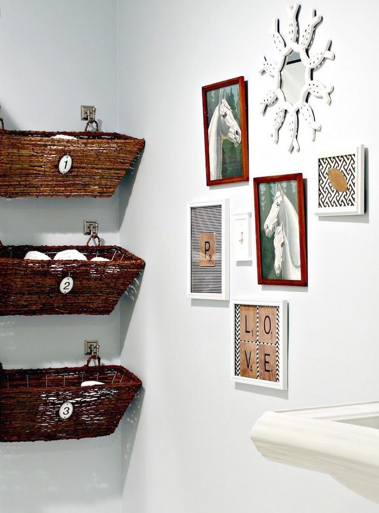 декор стен ванной комнаты фото 8