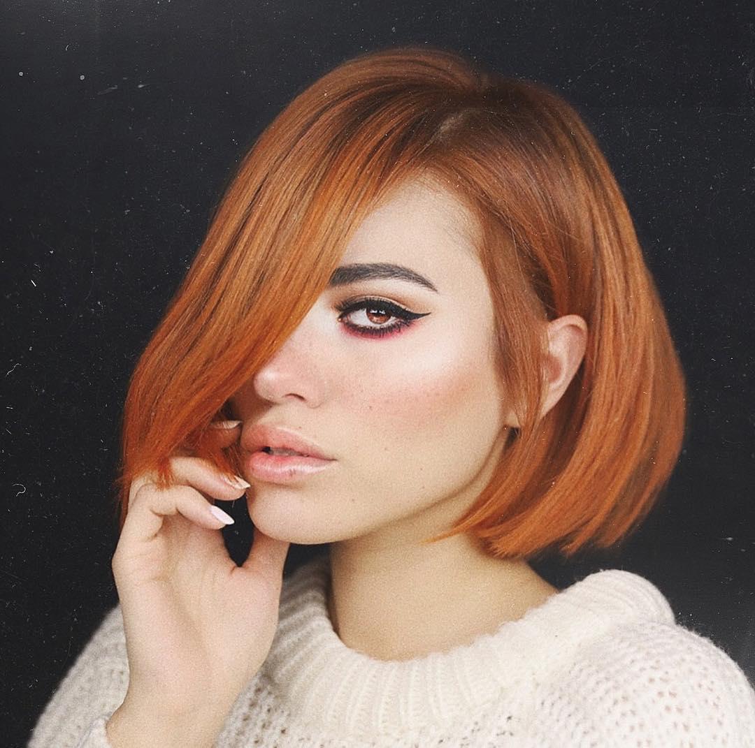 стрижки для коротких рыжих волос фото 4