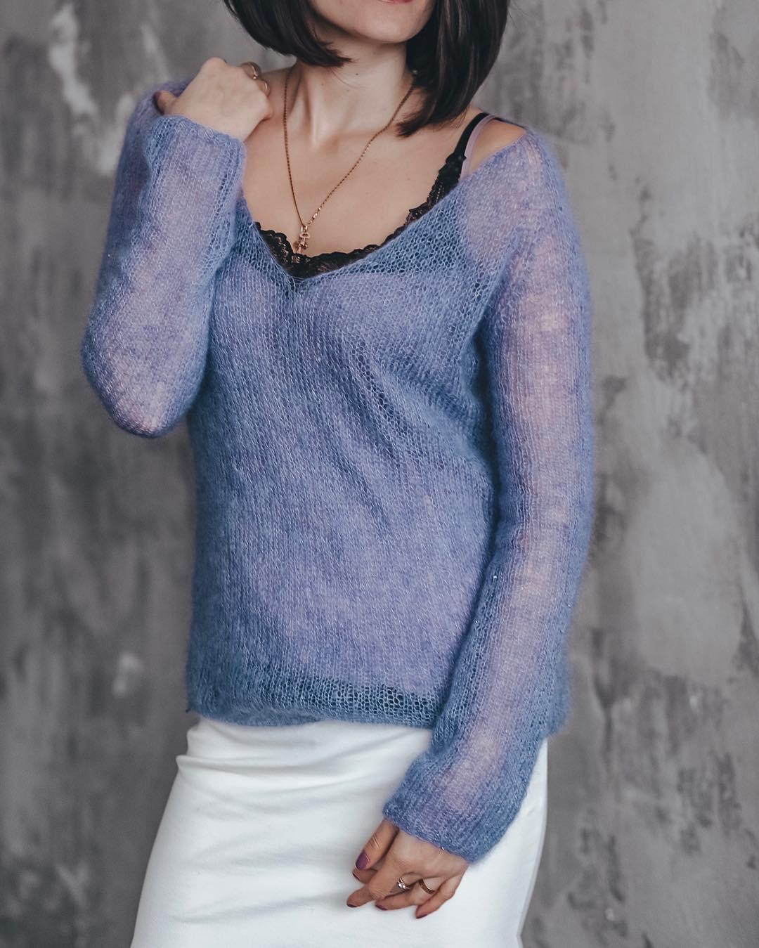 Пуловер фото 21