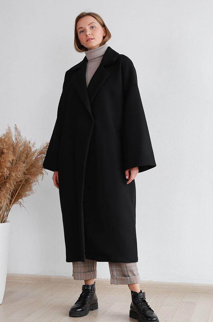 Широкое пальто фото 10