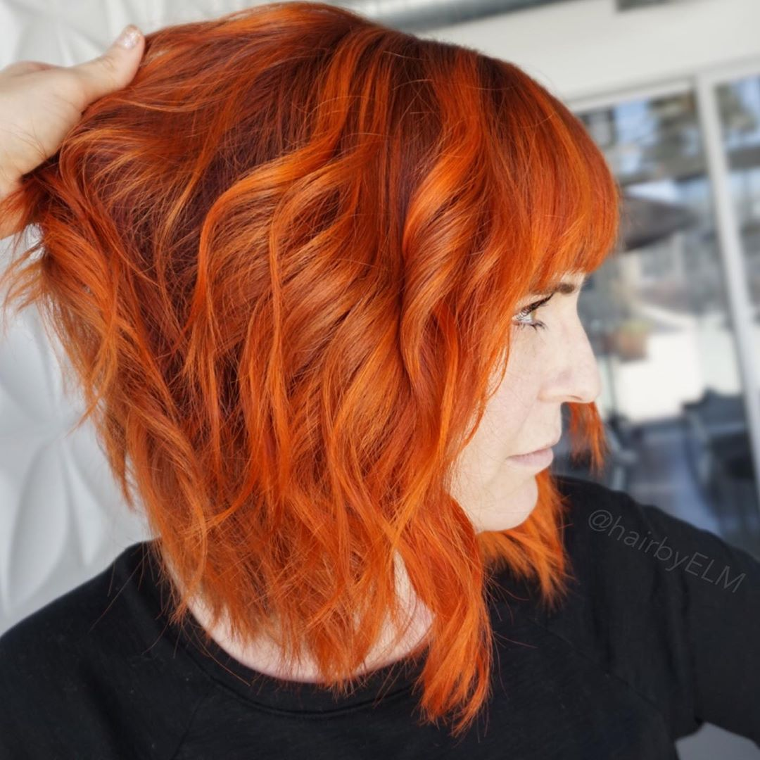 стрижки для коротких рыжих волос фото 2