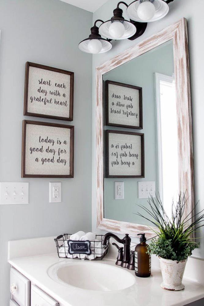 декор стен ванной комнаты фото 9