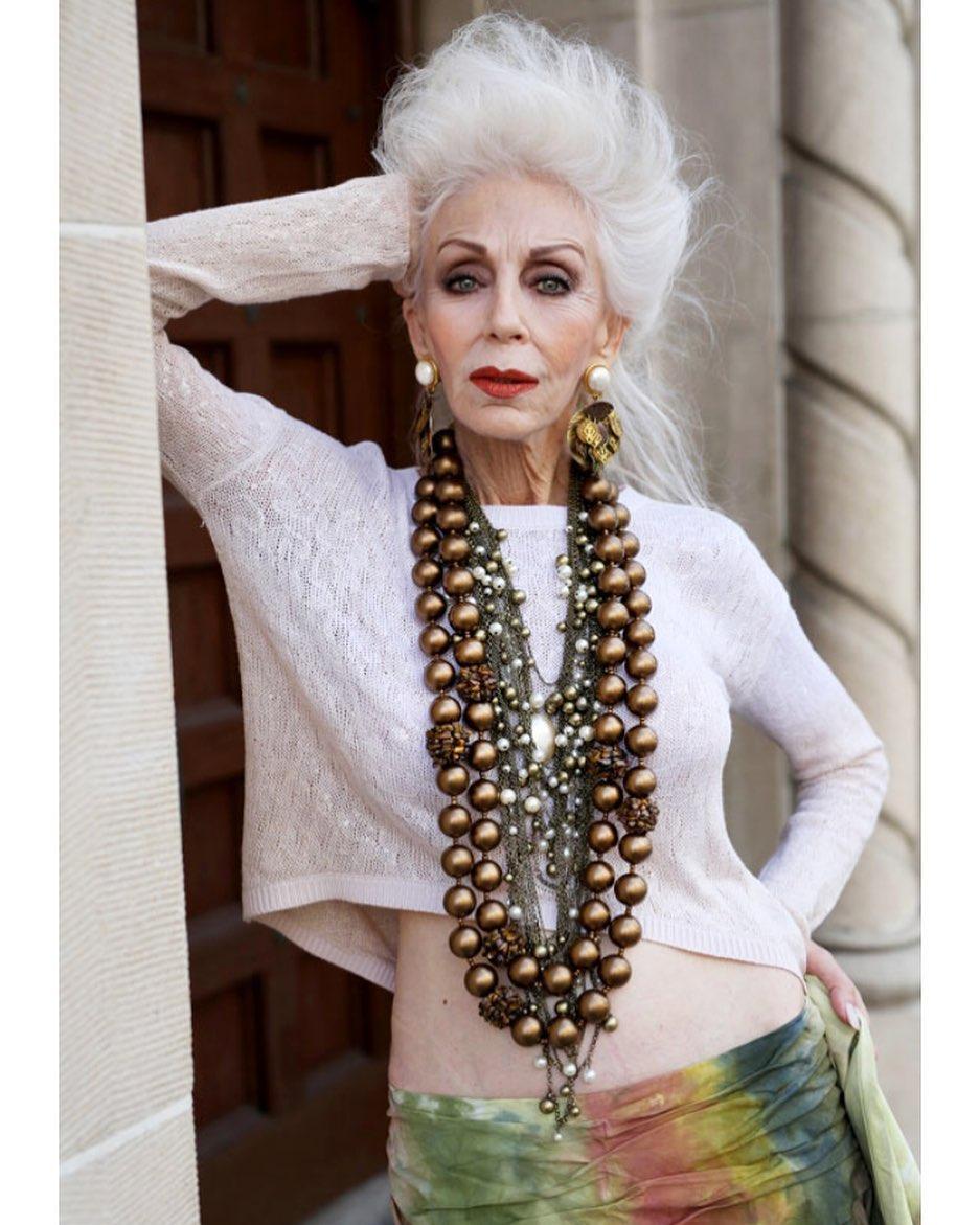 стрижки для пожилых женщин фото 5