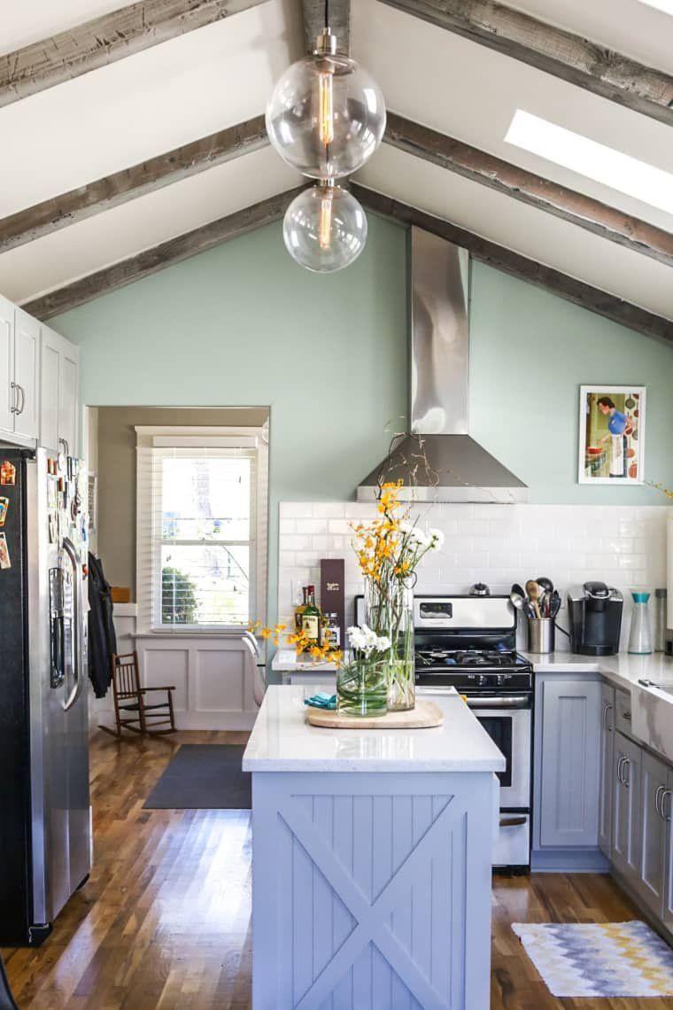 оформление кухни в серый цвет фото 9