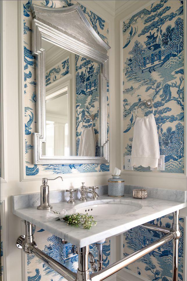 декор стен ванной комнаты фото 4