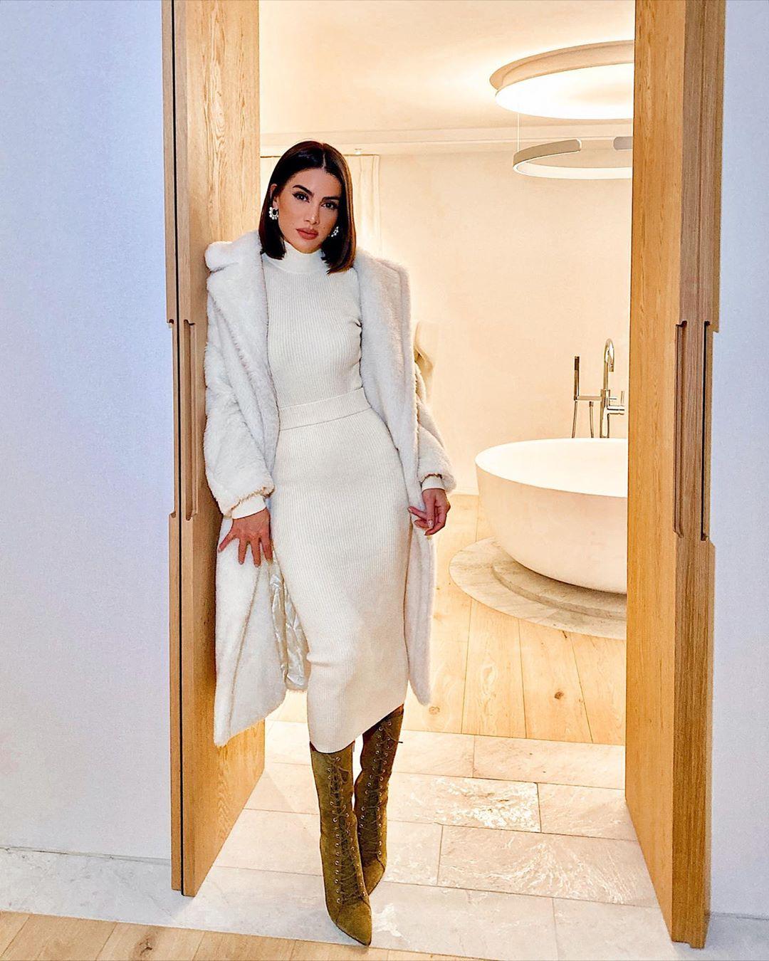 Платье-водолазка фото 3