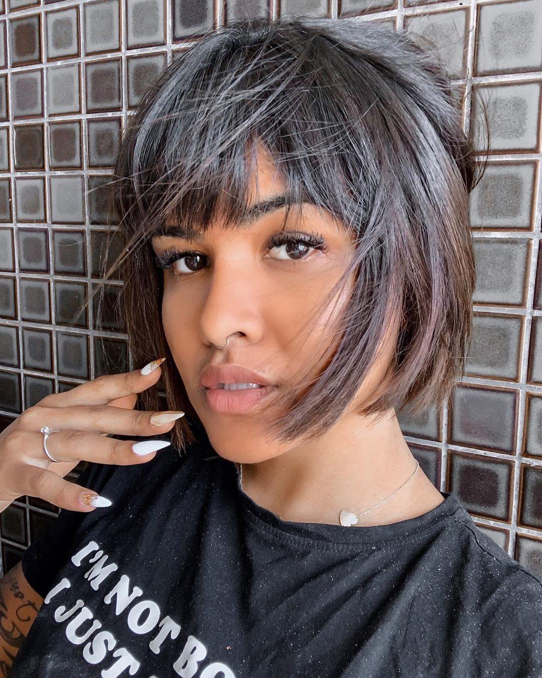 тренды для коротких волос фото 7