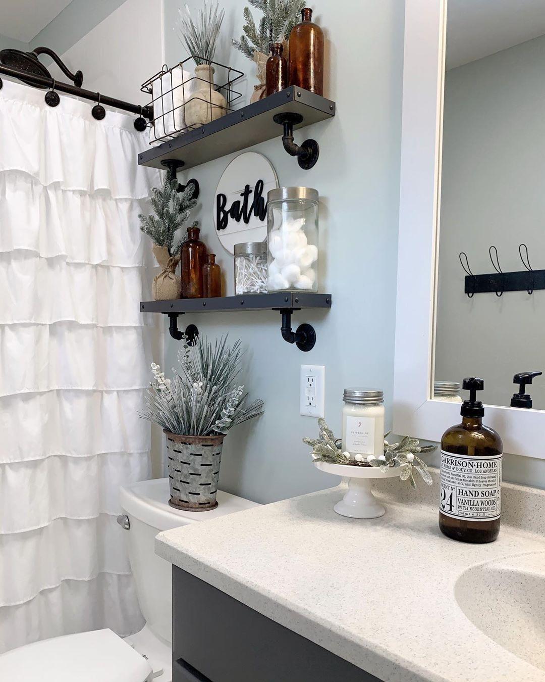 декор стен ванной комнаты фото 3
