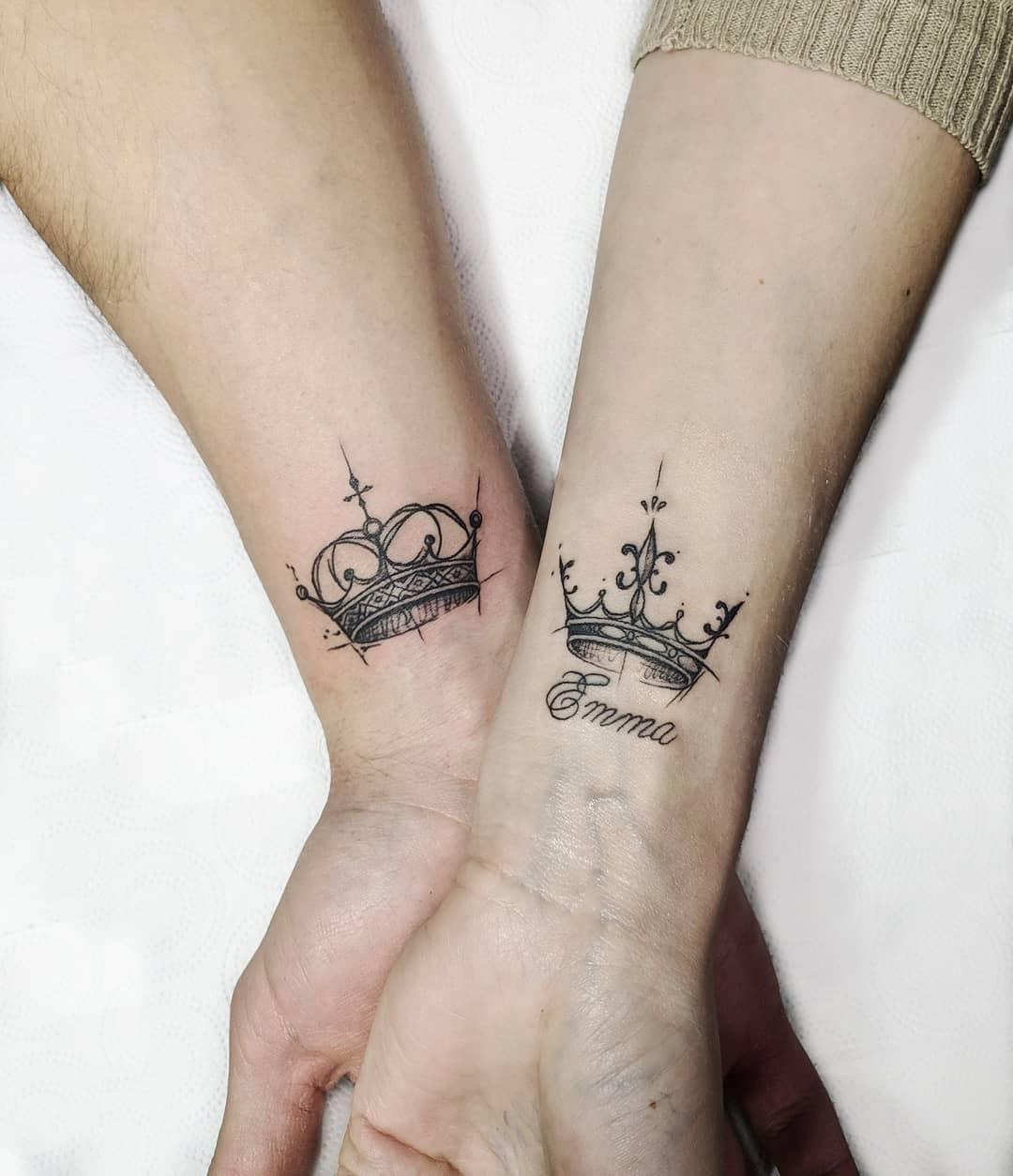 тату корона фото 11