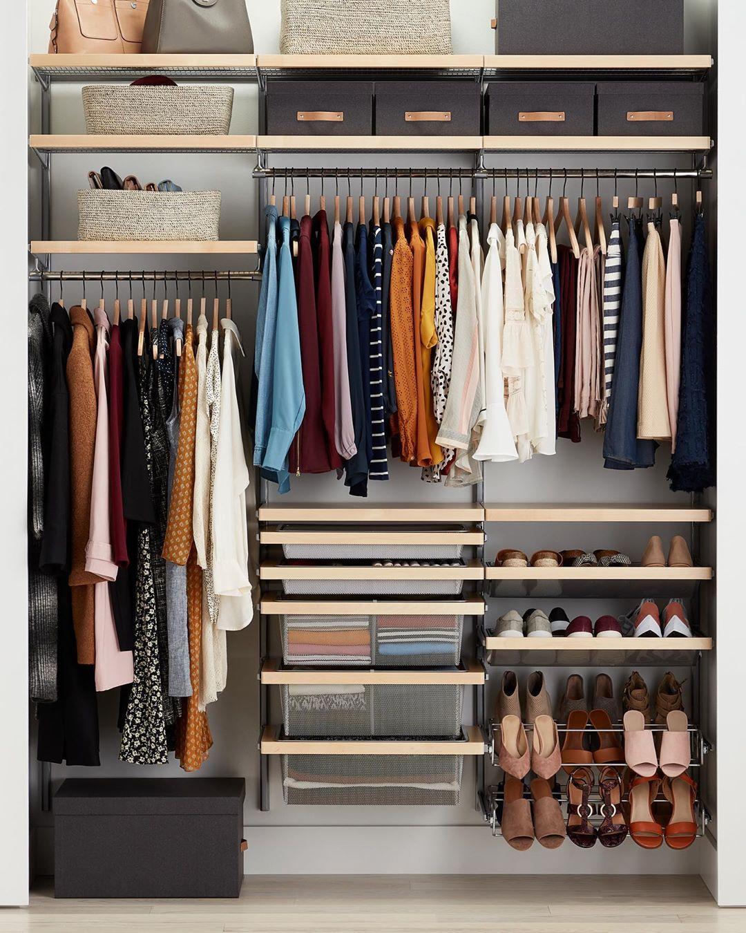 идеи организации гардероба фото 16