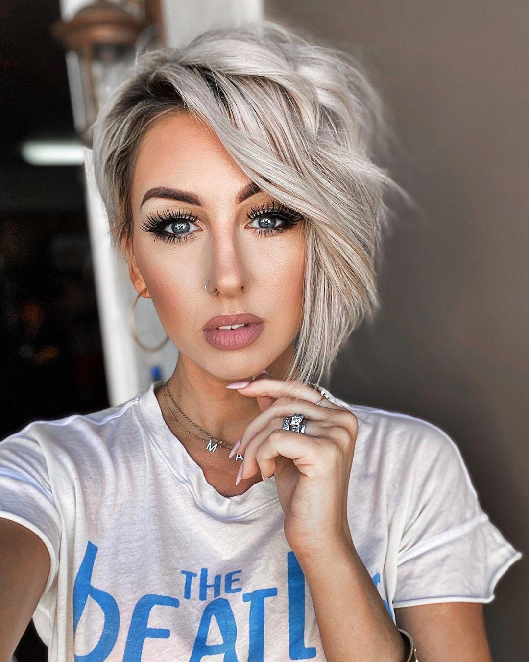 Как уложить короткие волосы фото 8