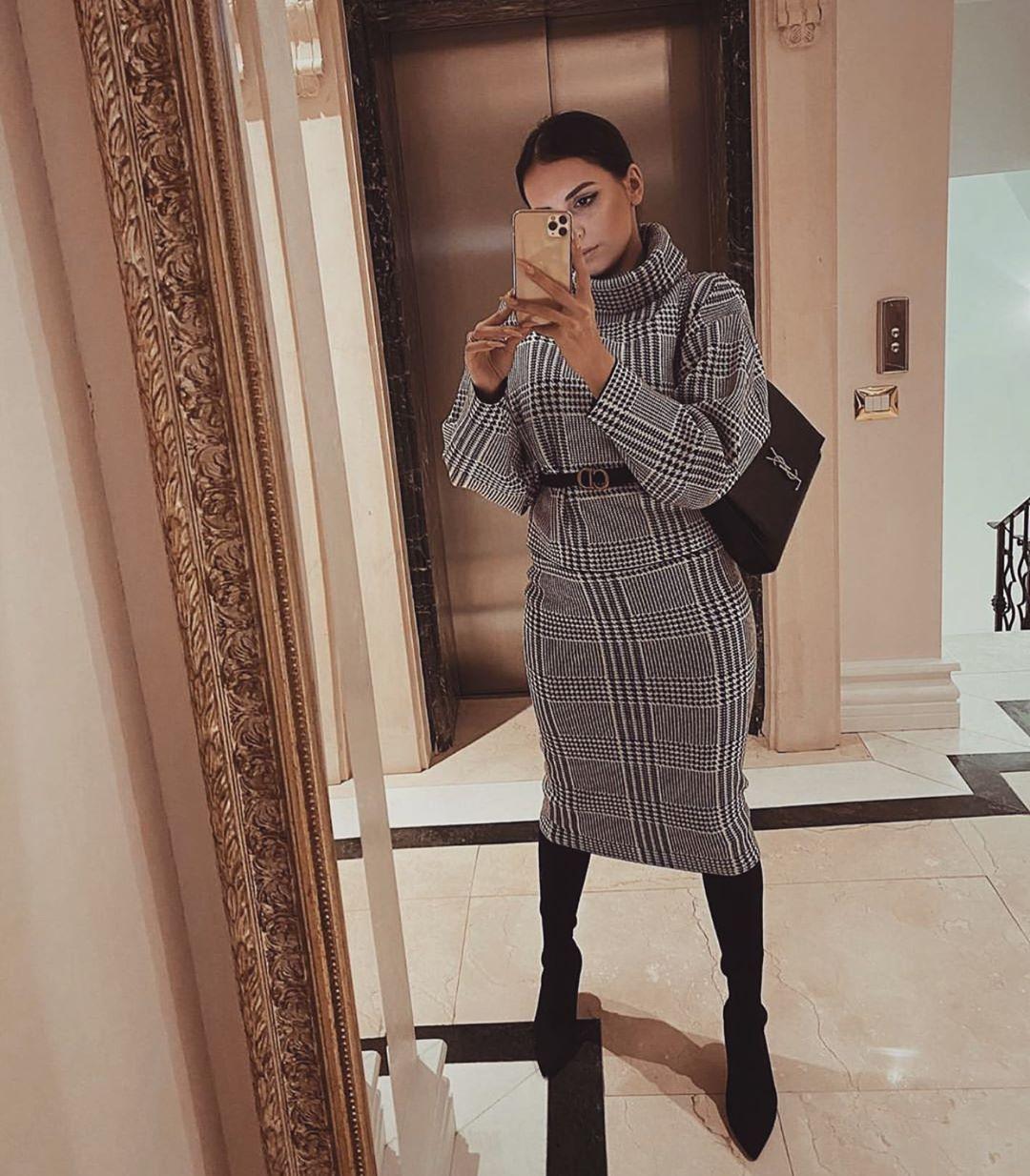 модные образы для бизнес-леди зимы 2020 фото 4
