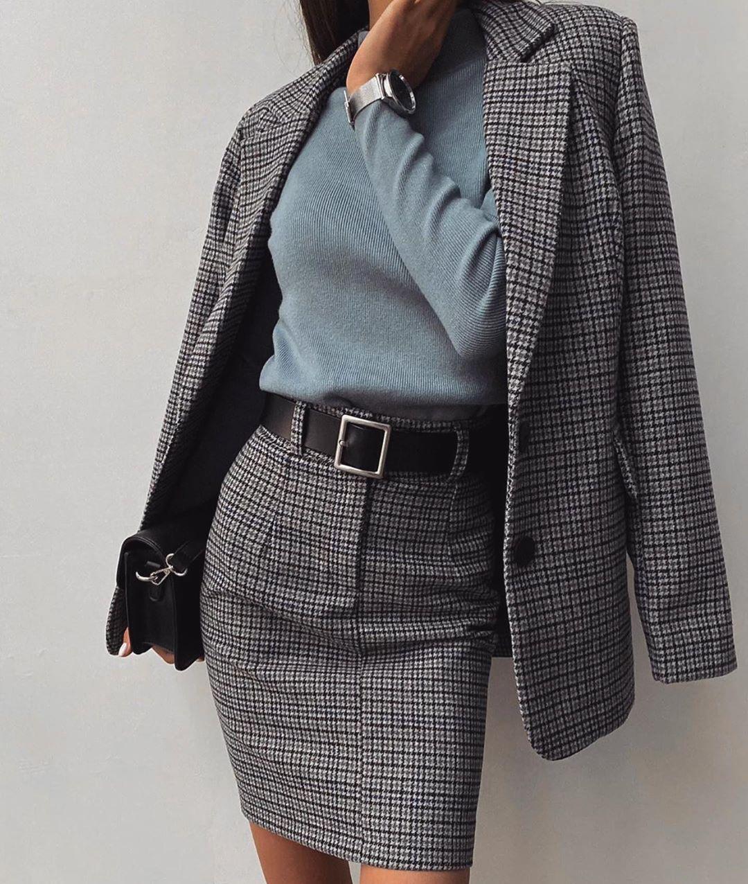 модные образы для бизнес-леди зимы 2020 фото 7