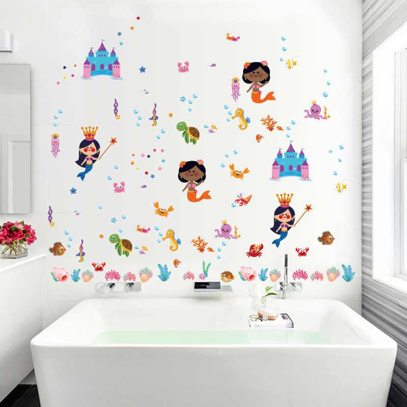 декор стен ванной комнаты фото 7