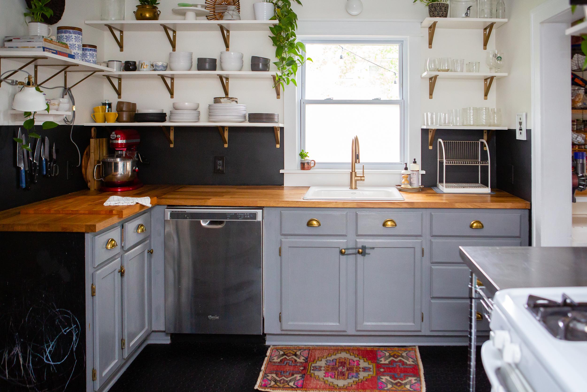 оформление кухни в серый цвет фото 11