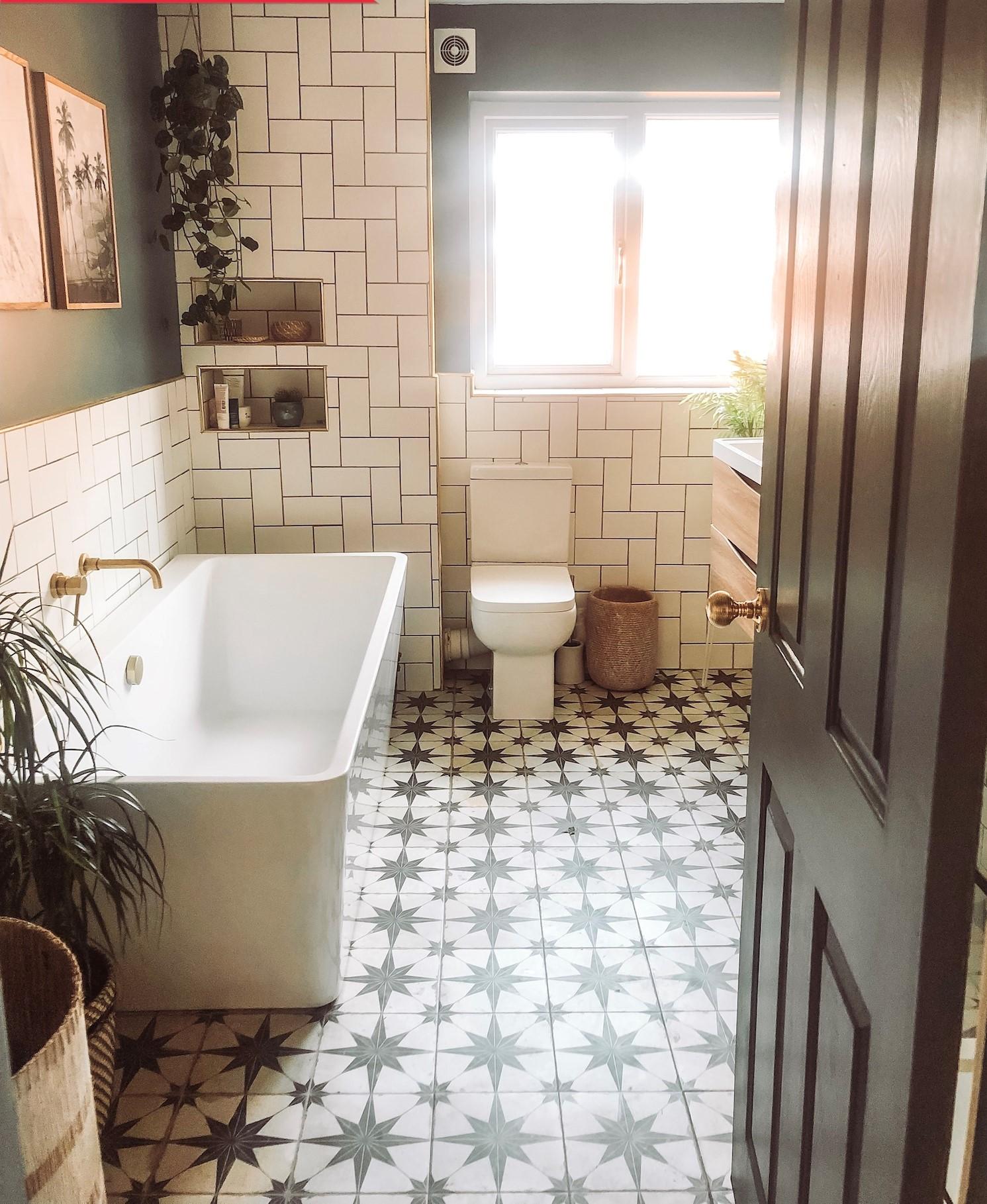 Ванная комната до и после фото 10