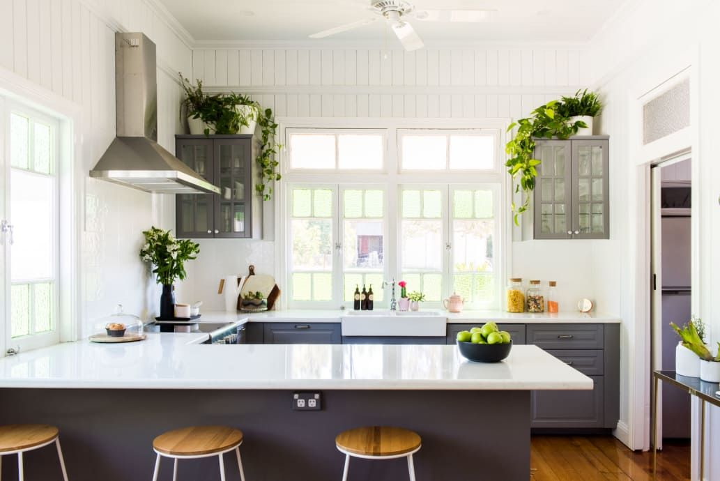 оформление кухни в серый цвет фото 4