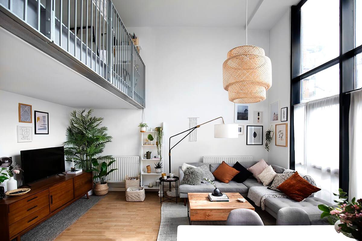 идеи для скандинавской гостиной фото 6