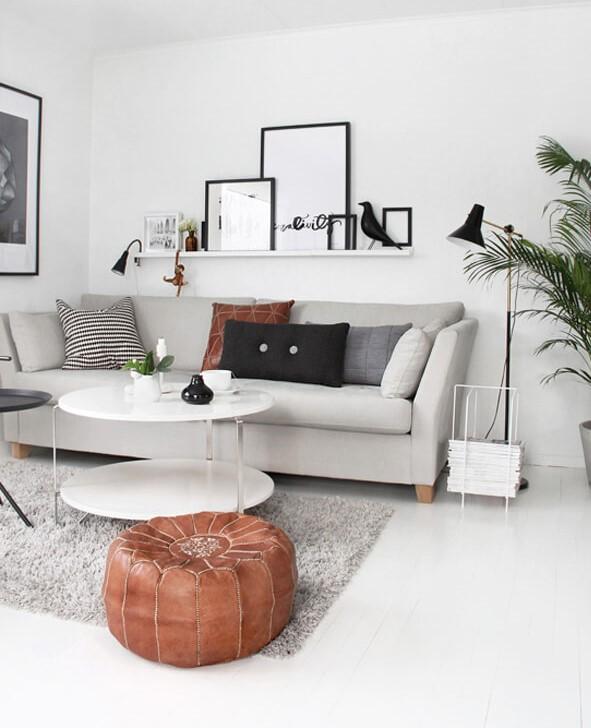 идеи для скандинавской гостиной фото 9