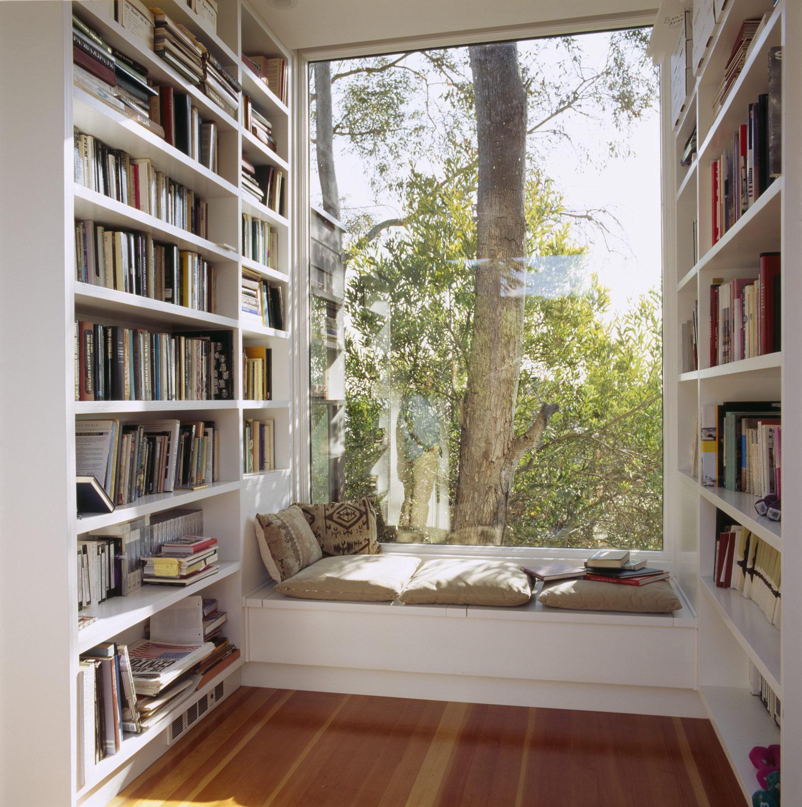 дизайн домашней библиотеки фото 7