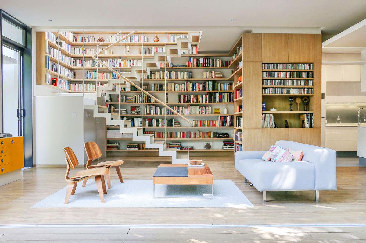 дизайн домашней библиотеки фото 4