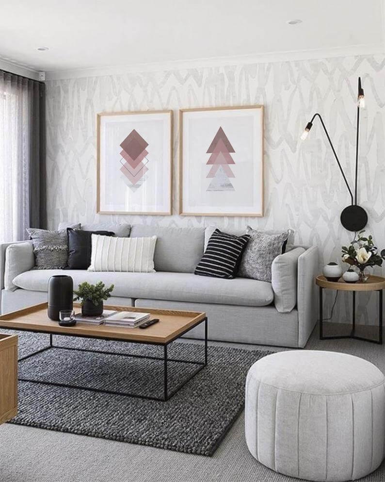 идеи для скандинавской гостиной фото 10