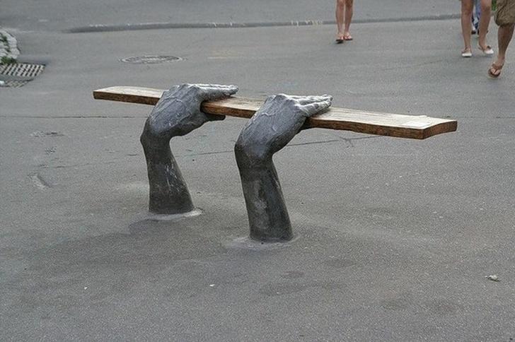 уникальные скамейки фото 2
