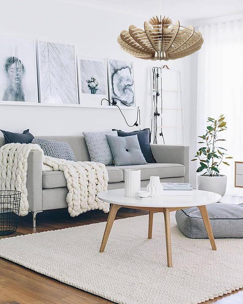 идеи для скандинавской гостиной фото 11