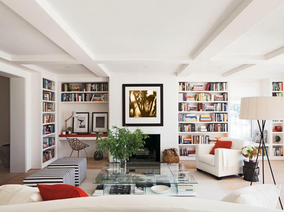 дизайн домашней библиотеки фото 5