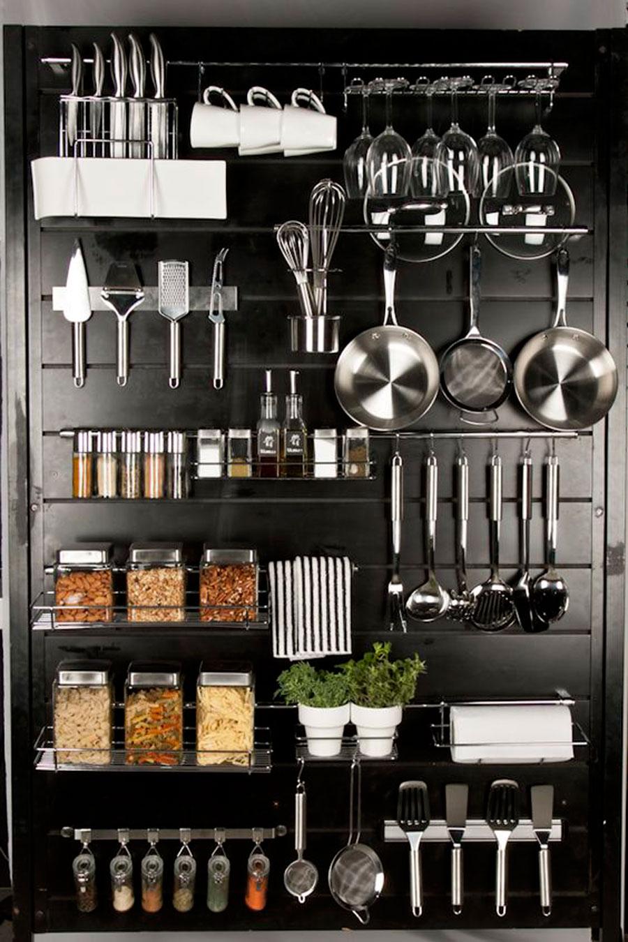 идеи для хранения в маленьких кухнях фото 5