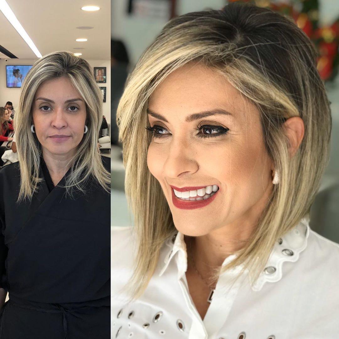 Стрижки после 40 лет на средние тонкие волосы 2020 фото 2