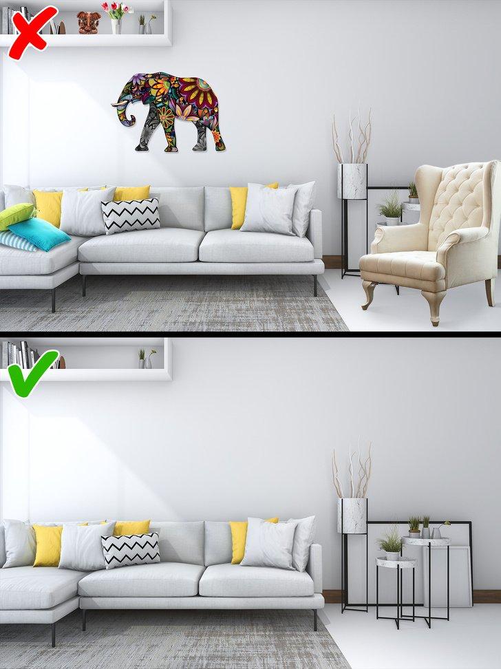 Детали интерьера из-за которых ваш дом будет выглядеть дешево фото 3