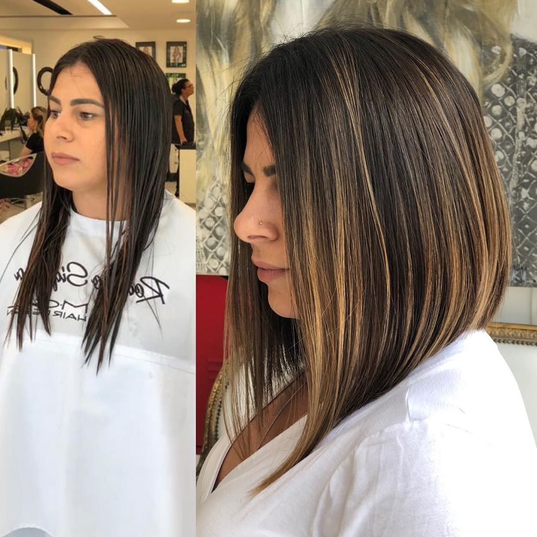 Стрижки после 40 лет на средние тонкие волосы 2020 фото 4