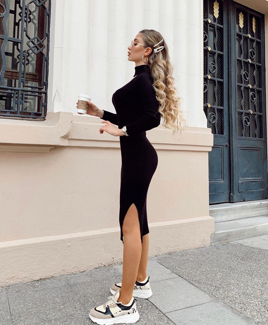 платье чулок фото 10