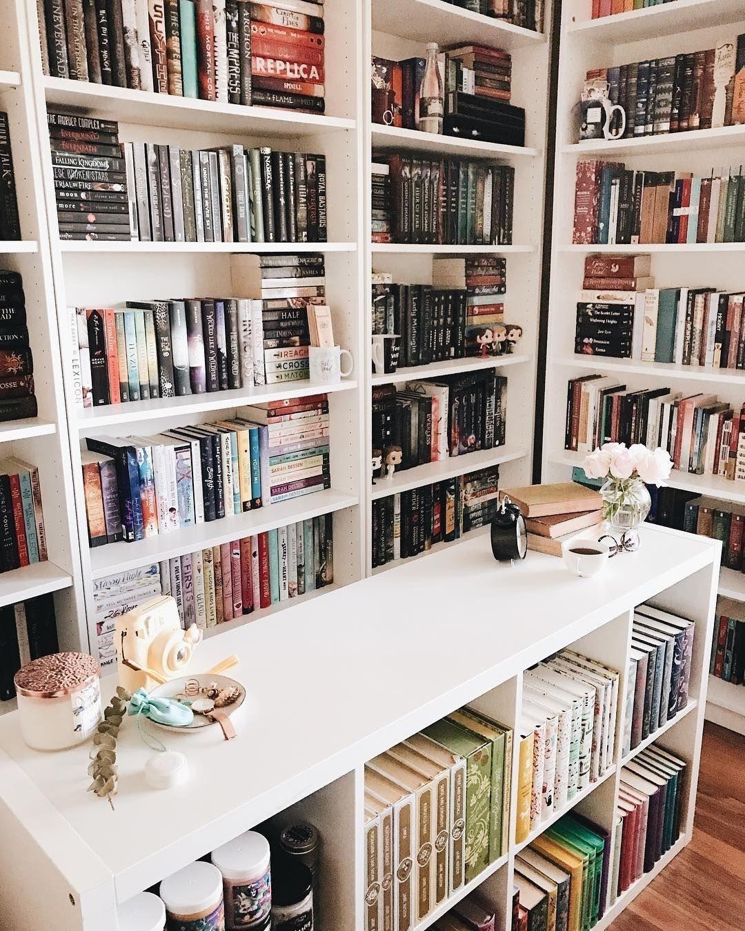 дизайн домашней библиотеки фото 6