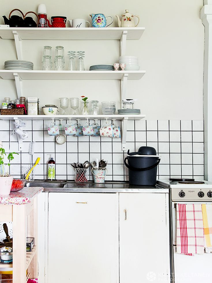 идеи для хранения в маленьких кухнях фото 10