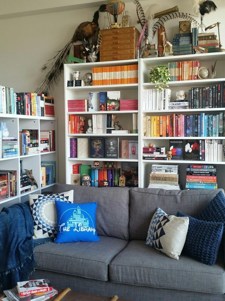 дизайн домашней библиотеки фото 18
