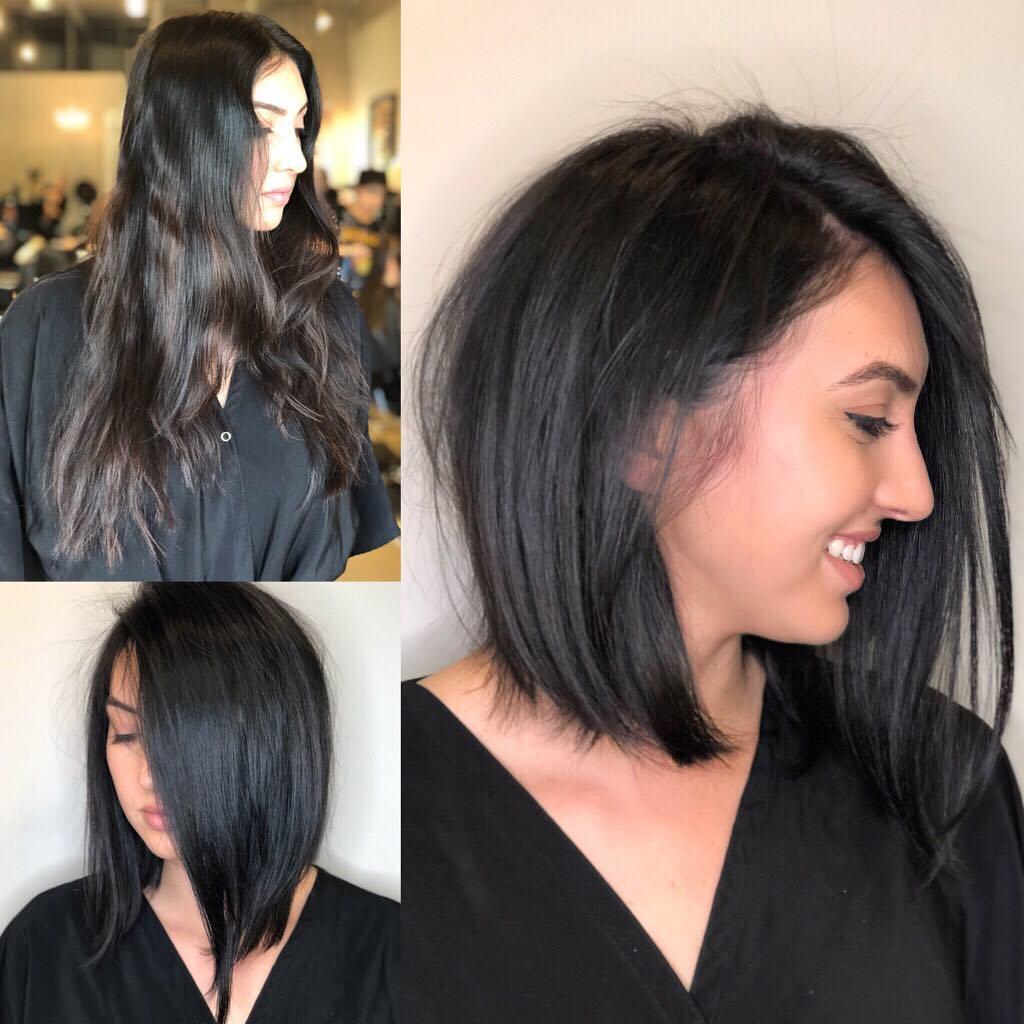 Стрижки средней длины для густых волос фото 9