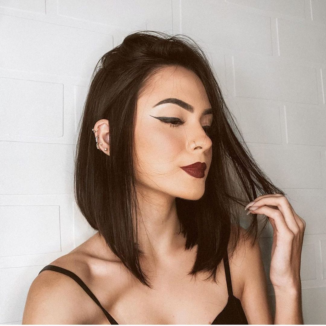 стрижки на прямые волосы фото 21