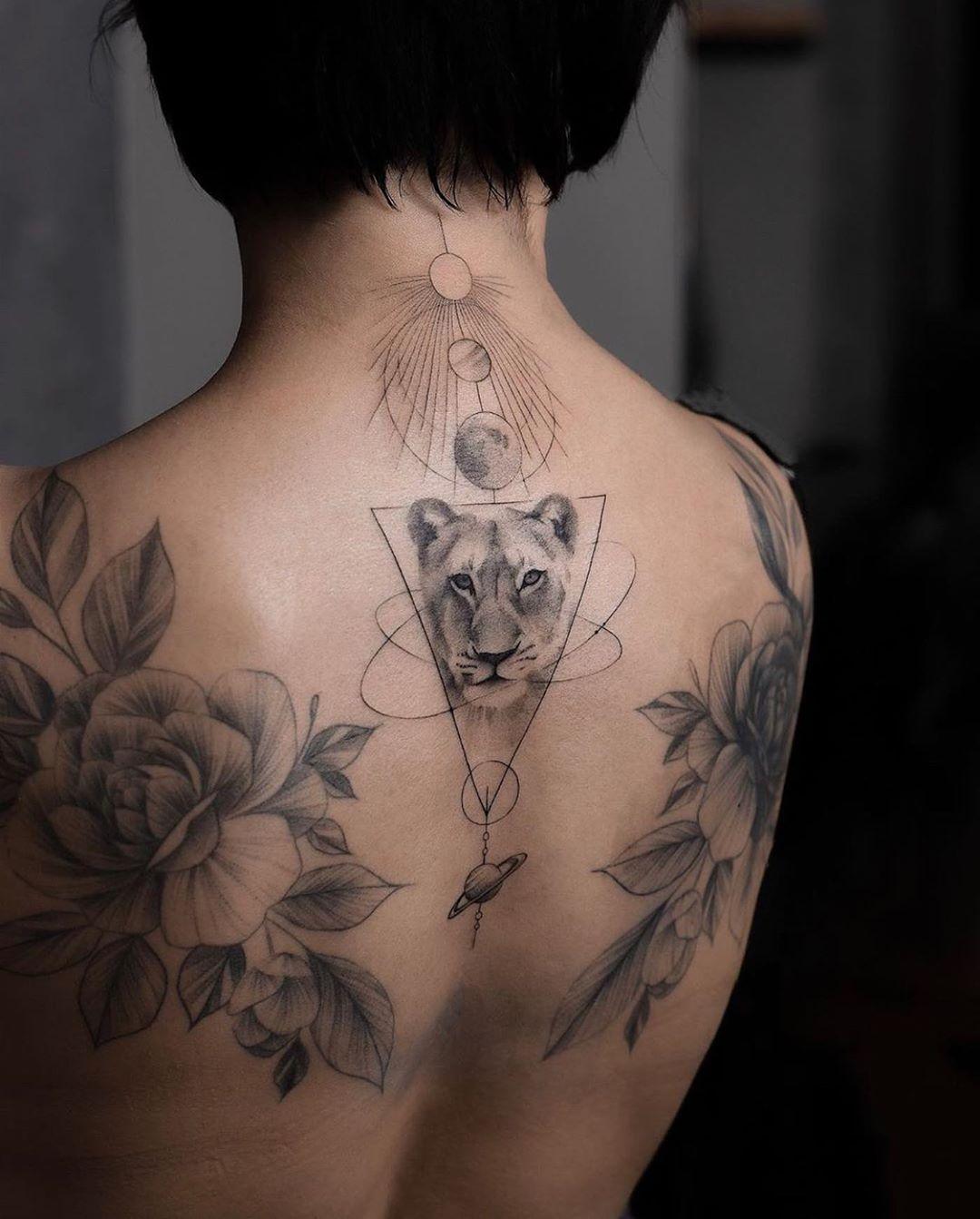 самые модные тату 2020 фото 19